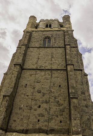 Chichester Cathedral (Cathedral Church of the Holy Trinity) free-standing medieval bell tower known as campanile in Chichester, West Sussex, United Kingdom