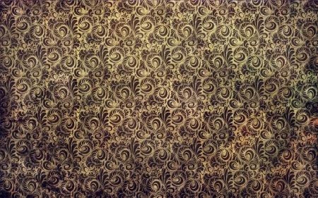 Schmutzige victorian Blumentapete Textur Standard-Bild - 16899628