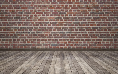 brick wall grunge room background