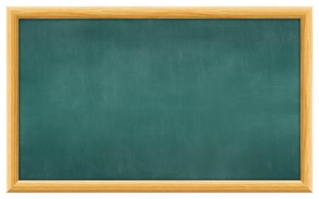 blank slate: dirty scratched blank blackboard
