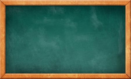 slate board: dirty scratched blank blackboard