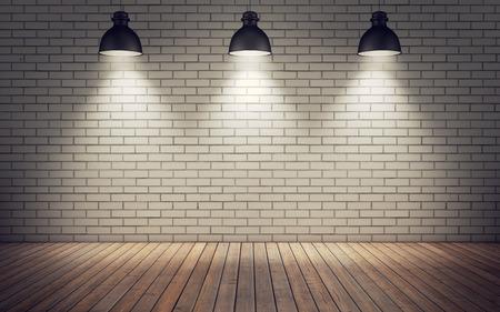 木製の床と明るい部屋