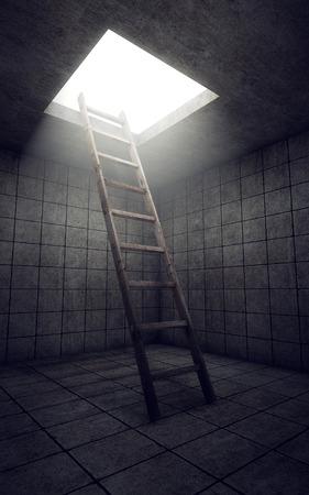 汚い部屋から自由にはしご