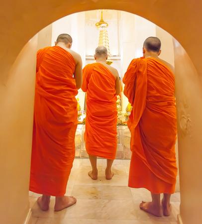 thai monk: thai monk