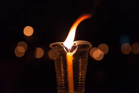candle flame: candle flame