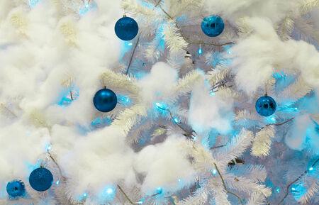 chirstmas: ornament blue ball chirstmas decoration