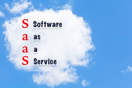 virtualization: cloud computing. Information technology network infrastructure virtualization concept. software as a service Stock Photo