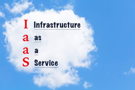 virtualization: cloud computing. Information technology network infrastructure virtualization concept. Infrastructure as a service