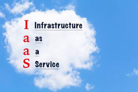 infraestructura: computaci�n en la nube. Tecnolog�a de la informaci�n concepto de virtualizaci�n de la infraestructura de red. Infraestructura como un servicio