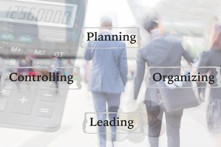 blur motion professional businessmen, business management concept