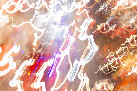 head light: abstract night  city car head light traffic
