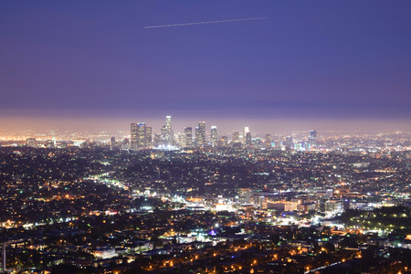 nightime: Downtown Los Angeles at Night