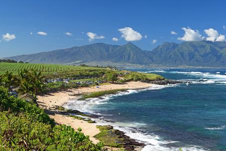 マウイ島の海岸線