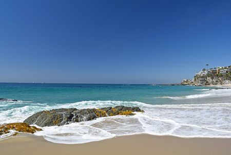 southern california: Thousands Steps Beach in Laguna Beach Southern California Stock Photo