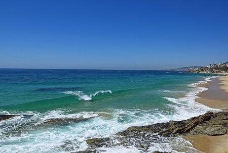 Thousands Steps Beach in Laguna Beach, Southern California