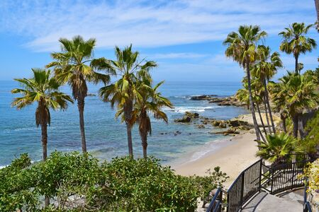 southern california: Laguna Beach during the Summertime in Southern California Stock Photo