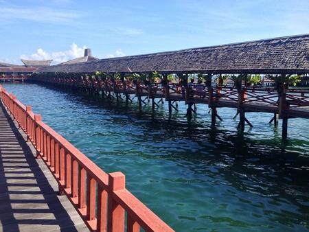 sandakan: Borneon view Semporna Sandakan