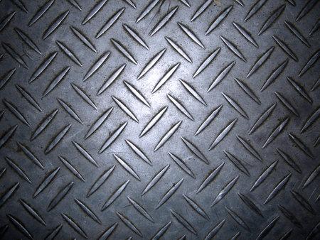 Texture of metal non-slip treads plate. Stock Photo - 2990129