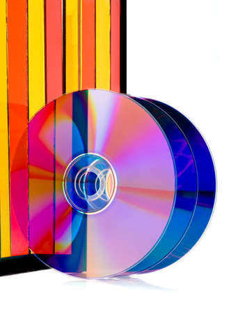 Compact disk surface. High resolution. Stock Photo - 2990464