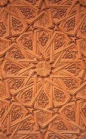 Islamic (Moorish) style. Detail of wall plaster. Great background