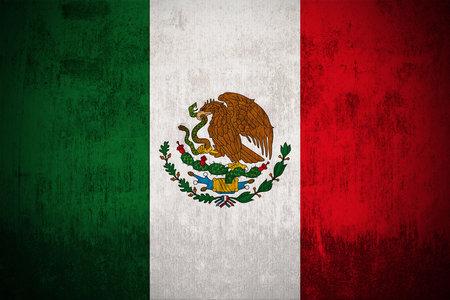 bandera de mexico: Degradado Bandera de Mexico, un tejido con textura
