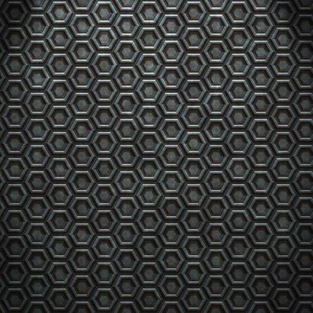 Rusty grunge diamond steel plate background. photo