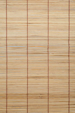 bamboo curtain pattern material  photo