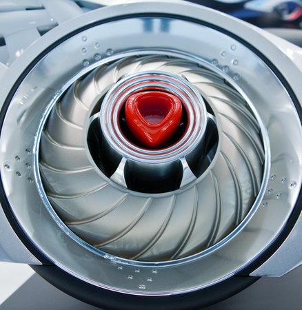 Futuristic turbine of starship Stock Photo - 15588496