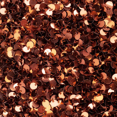 sequins: Brown sequins pattern texture fashion background Stock Photo