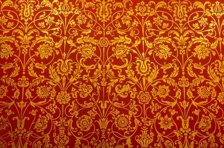 ヴィンテージの花の壁紙の背景 写真素材