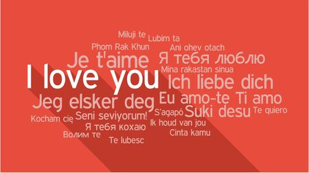 I love you in different languages words collage vector illustration i love you in different languages words collage vector illustration stock vector 42855555 thecheapjerseys
