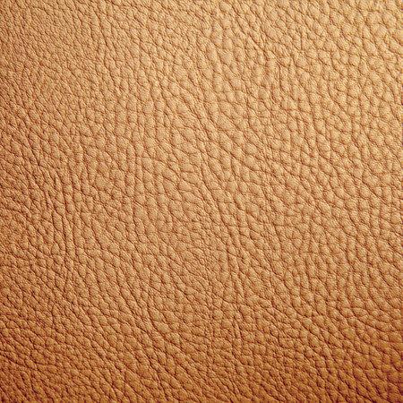 Tan leather texture background. Close-up photo Foto de archivo