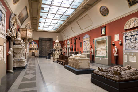 Moscow, Russia - November 9, 2017: Pushkin Museum Editorial