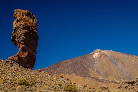 Roques de Garcia in the National park of El Teide, Tenerife Stock Photo