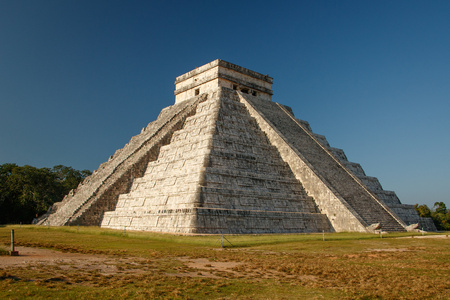 The most famous mexican pyramid from Mayan culture Reklamní fotografie