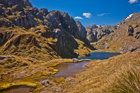 Beatiful Routeburn track in New Zealand, great walks, magical zealands destinations, Zealandian south island alps