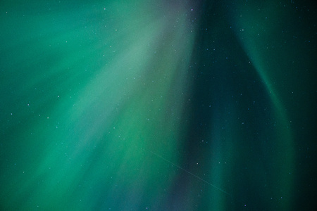 Stripes of northern light on the night sky far North, American adventure, chasing aurora, sky gazing Reklamní fotografie