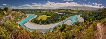 Rakaia river viewpoint, near Christchurch, NZ, day trip from Christchurch, blue beauty