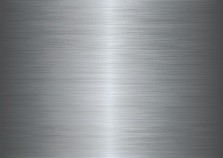 Brushed metal texture abstract background.  Ilustração