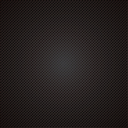 halftone pattern: Abstract background with grey dots on black. Vector Format