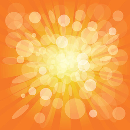 abstract background vector: Orange abstract background. Vector illustration