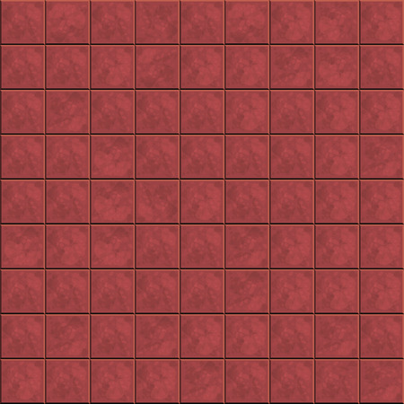 replicate: Brown ceramic tiles pattern for continuous replicate. Vector illustration