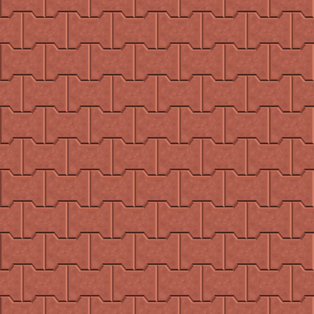 cobble: Seamless pattern for decoration and design tile floor. Vector illustration