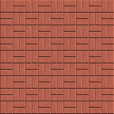 paving stones: Seamless pattern for decoration and design tile floor. Vector illustration