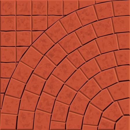 Pattern for decoration and design tile floor. Vector illustration Illustration