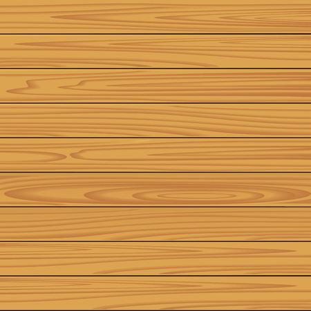 planche de bois: Seamless des r�aliste planche bois naturel texture de fond. illustration vectorielle