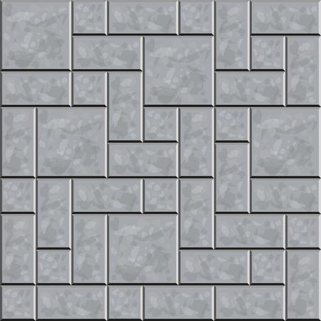 ceramic tile: Ceramic tile floor. Seamless pattern. Vector illustration