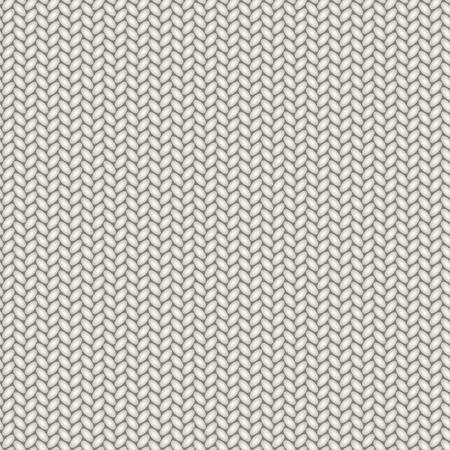 Knit texture, seamless pattern. Vector illustration