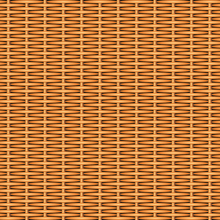 rattan: Wooden textured basket weaving background. Seamless pattern. Vector illustration