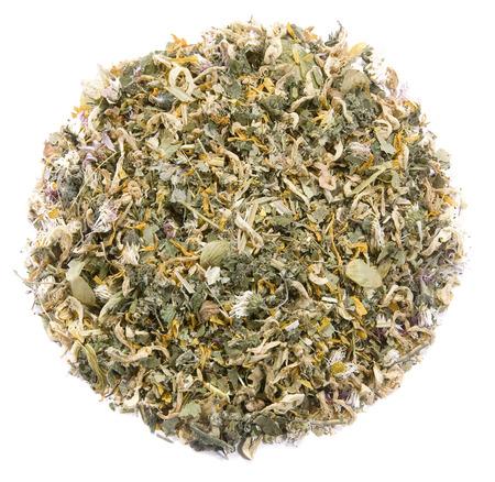 detoxification: A mix of medical herbs used for detoxification Stock Photo